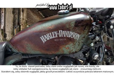 Nowy- stary Harley.